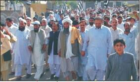Protests against rigging in Swat
