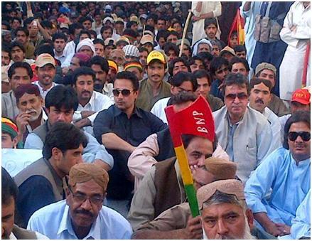 BNP protest in Quetta