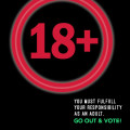 if your 18+, fulfill your responsibility & cast your vote!
